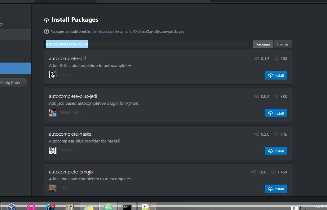 atom text editor portable download